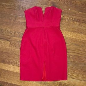NBD strapless dress